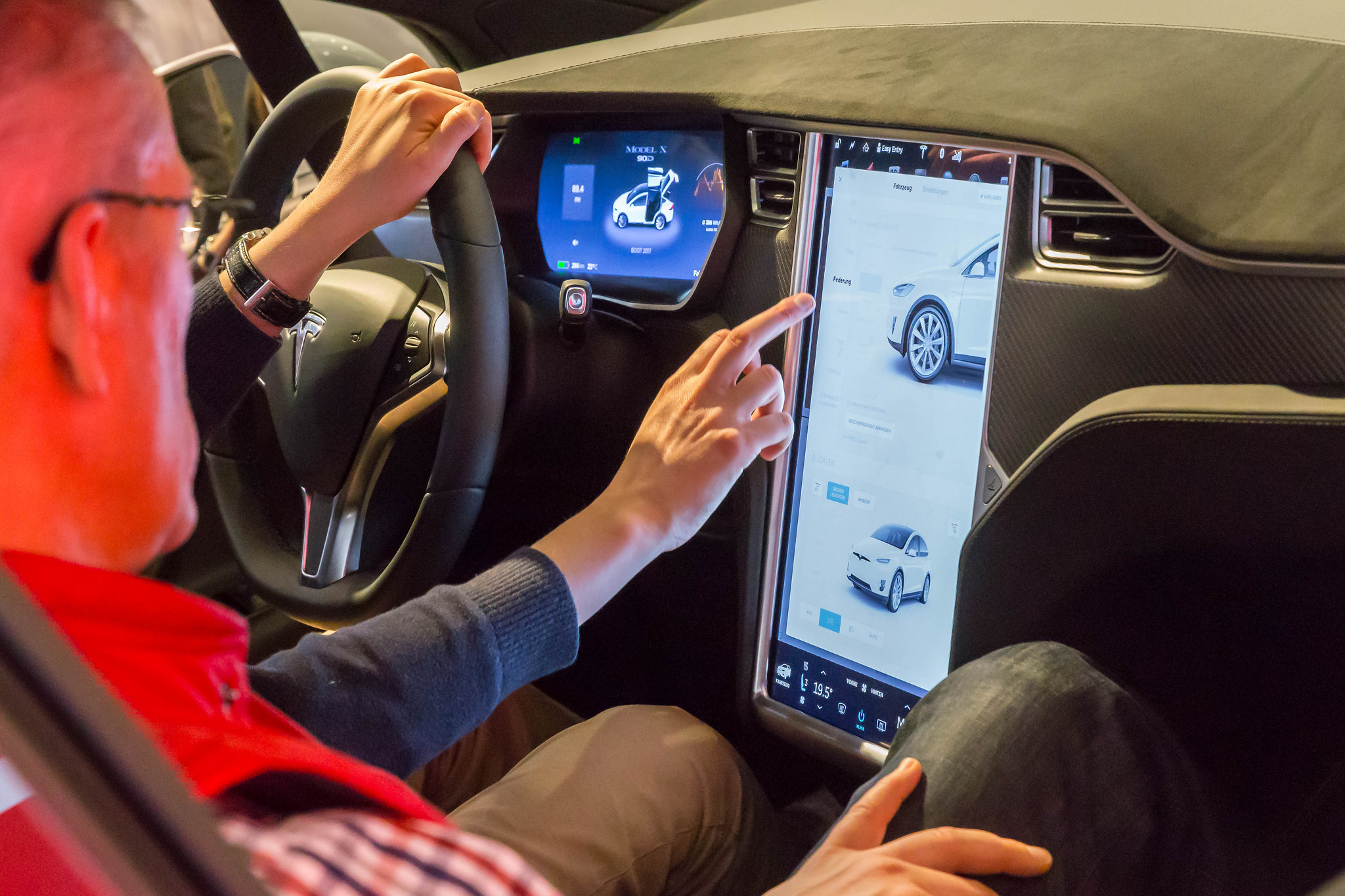 Tesla cockpit
